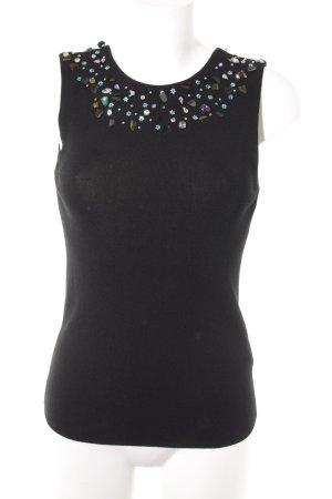 Zara Knit Blusa sin espalda multicolor look casual