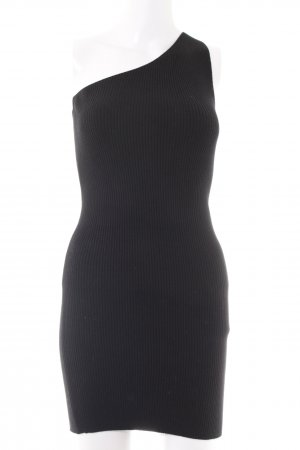 Zara Knit Tube Dress black casual look