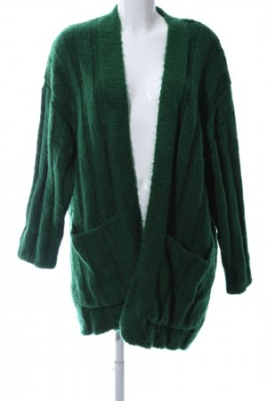 Zara Knit Knitted Cardigan green casual look