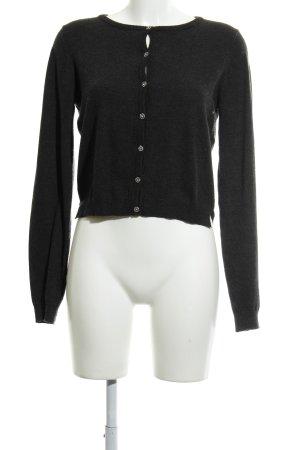 Zara Knit Cardigan in maglia antracite stile casual