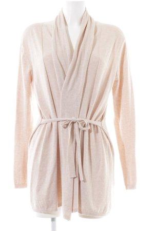 Zara Knit Knitted Cardigan cream business style
