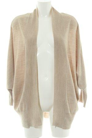 Zara Knit Strick Cardigan beige Casual-Look