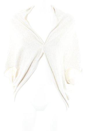 Zara Knit Strick Cardigan creme Casual-Look