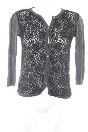 Zara Knit Strick Cardigan florales Muster Casual-Look