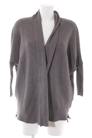 Zara Knit Strick Cardigan grau schlichter Stil