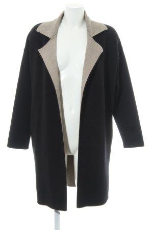 Zara Knit Strick Cardigan schwarz Casual-Look