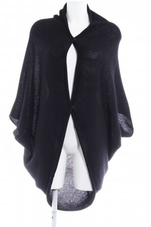 Zara Knit Strick Cardigan schwarz Kuschel-Optik