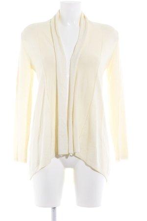 Zara Knit Strickjacke hellgelb schlichter Stil