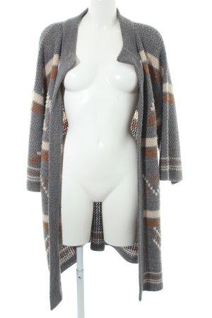 Zara Knit Strickjacke mehrfarbig extravaganter Stil
