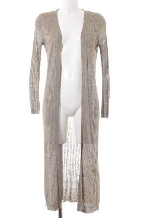 Zara Knit Strickjacke ocker Casual-Look
