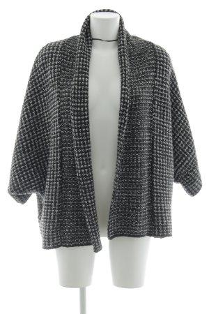 Zara Knit Strickjacke schwarz-weiß Casual-Look