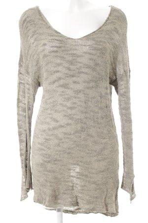 Zara Knit Strickkleid camel Street-Fashion-Look