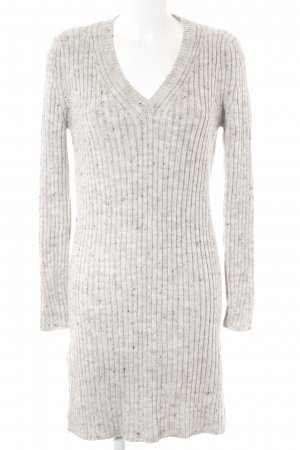 Zara Knit Strickkleid meliert Casual-Look