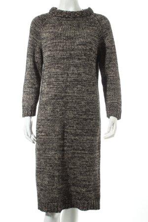 Zara Knit Abito di maglia multicolore Tessuto misto