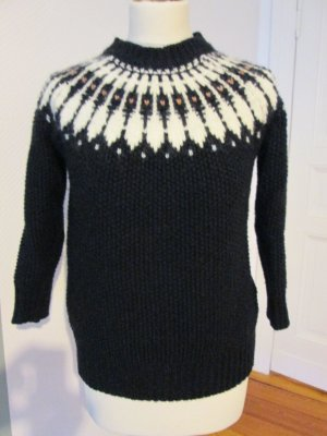 Zara Knit Pull norvégien multicolore