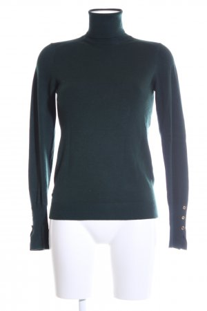Zara Knit Strickpullover grün Casual-Look
