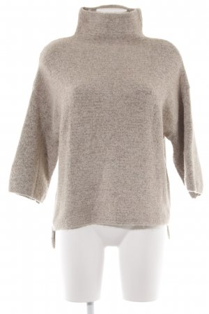 Zara Knit Strickpullover creme Webmuster Casual-Look
