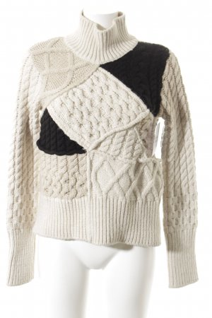Zara Knit Knitted Sweater multicolored casual look