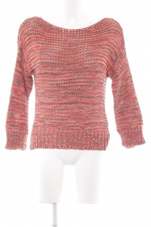 Zara Knit Strickpullover meliert Casual-Look