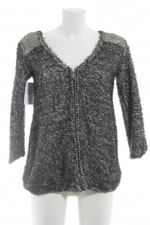Zara Knit Strickpullover meliert extravaganter Stil