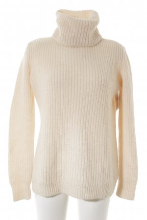 Zara Knit Strickpullover rosé Casual-Look