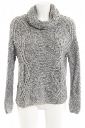 Zara Knit Strickpullover Zopfmuster Casual-Look