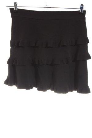 Zara Knit Gonna lavorata a maglia nero stile casual