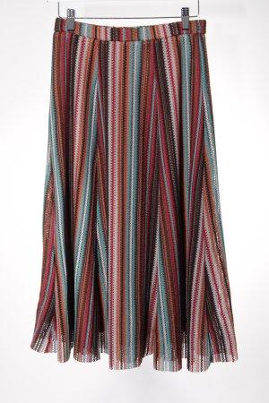Zara Knit Jupe tricotée motif rayé style décontracté