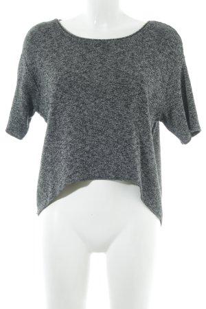 Zara Knit Camisa tejida moteado look casual