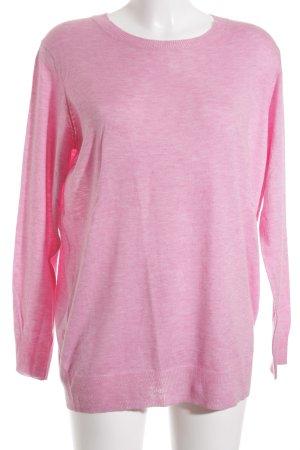 Zara Knit Strickshirt rosa Elegant