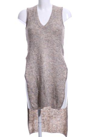 Zara Knit Gebreide top room-lichtgrijs gestippeld casual uitstraling