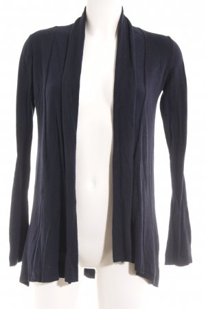Zara Knit Strickweste dunkelblau Casual-Look