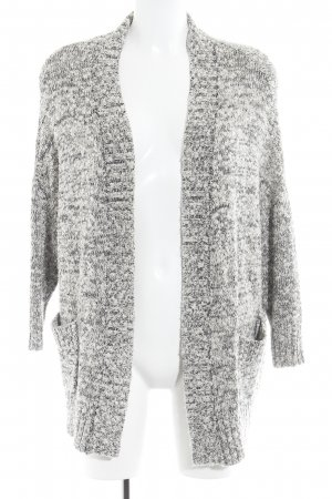 Zara Knit Strickweste grau-hellgrau Casual-Look