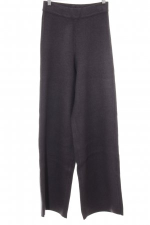 Zara Knit Sweat Pants dark grey extravagant style