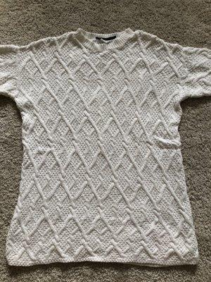 Zara knit white Pullover
