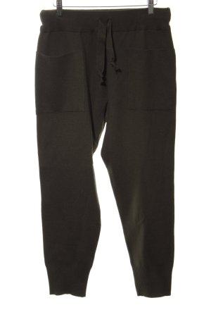 Zara Knit Pantalon en laine brun style décontracté