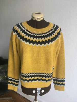 Zara Knit Wollpulli, Gr. L