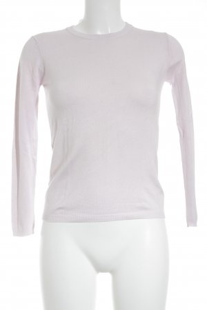 Zara Knit Jersey de lana color rosa dorado look casual