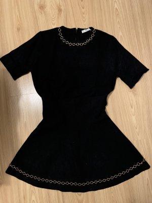 Zara Knit Ensemble en tricot noir