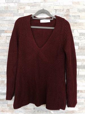 Zara Knitwear Pullover mit Zopfmuster in xs