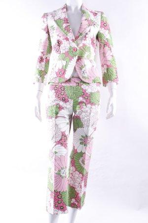 Zara Kostüm-Set mit Blumenmuster