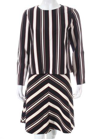 Zara Kostüm Streifenmuster Elegant