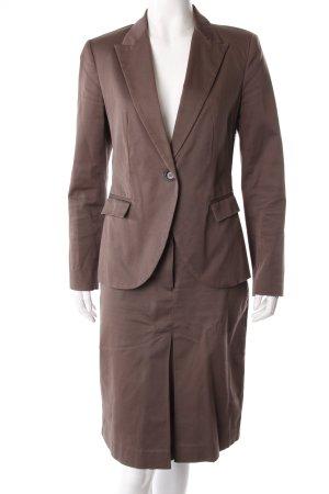Zara Kostüm zweiteilig braun