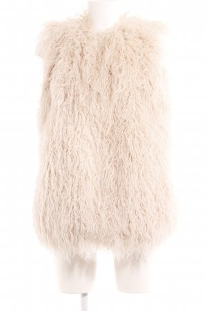 Zara Vest van imitatiebont room extravagante stijl