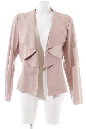 Zara Kunstlederjacke pink Elegant