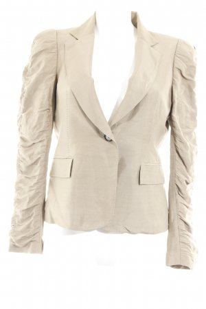 Zara Kurz-Blazer camel Business-Look