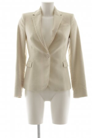 Zara Kurz-Blazer creme Business-Look