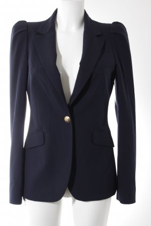 Zara Kurz-Blazer dunkelblau Business-Look