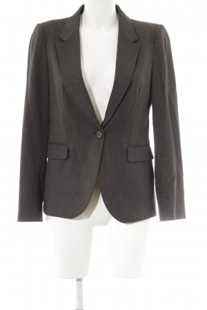 Zara Kurz-Blazer graubraun Business-Look