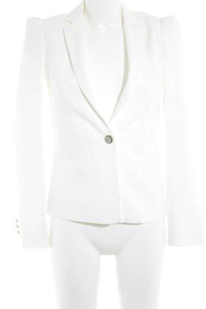 Zara Kurz-Blazer weiß Elegant